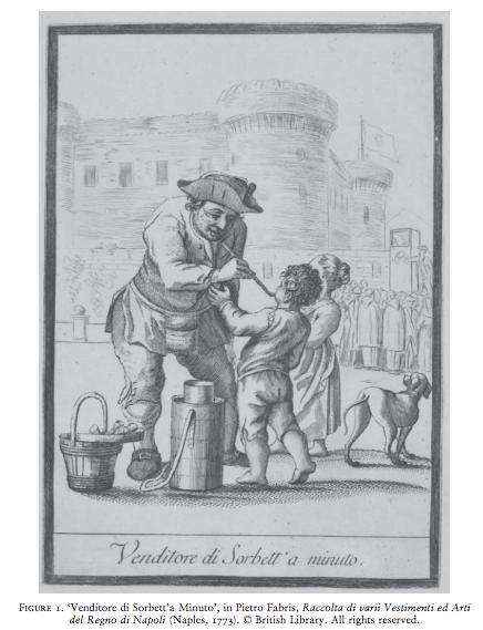 The sorbet seller, Pietro Fabris (1773)