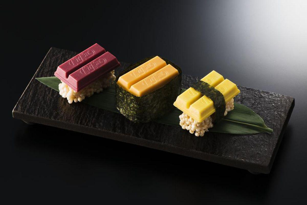 Kit Kat  'sushi'