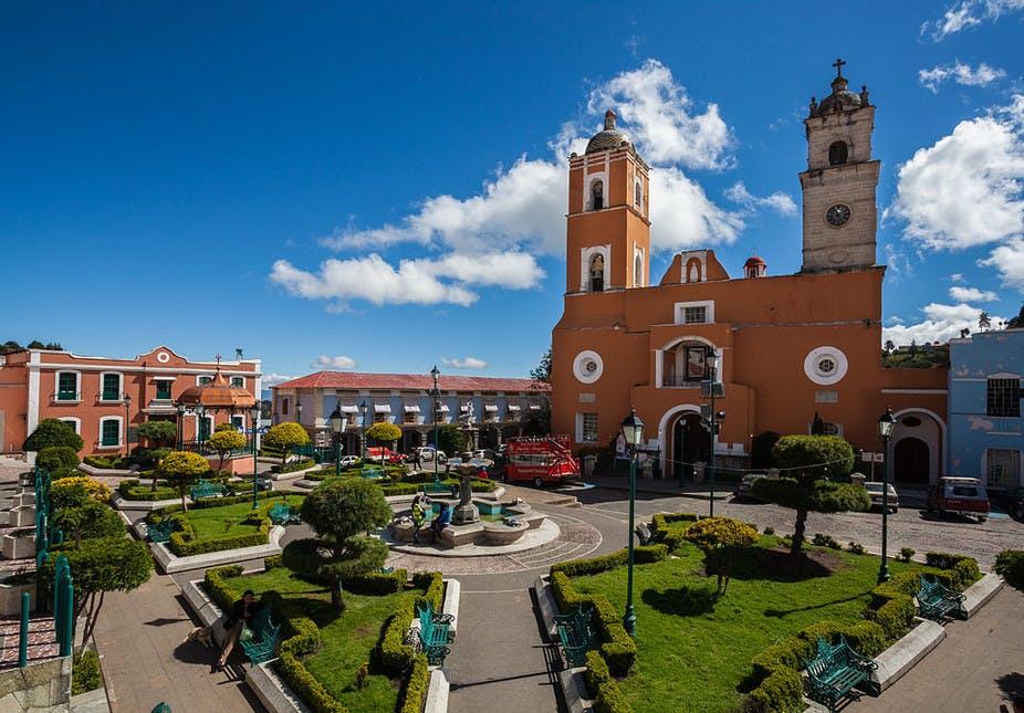 Real del Monte square.