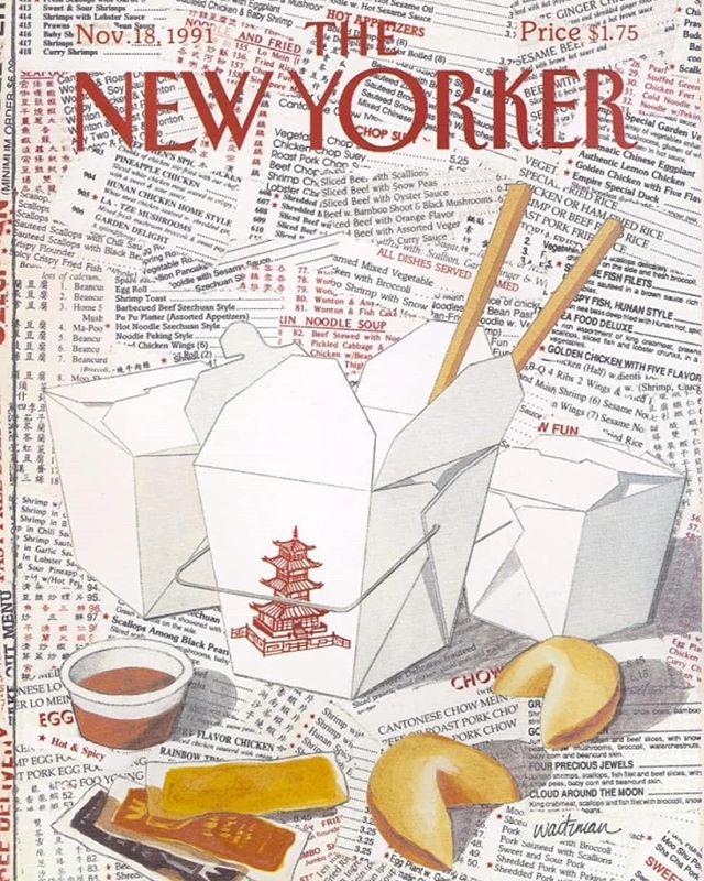Food and @newyorkermag