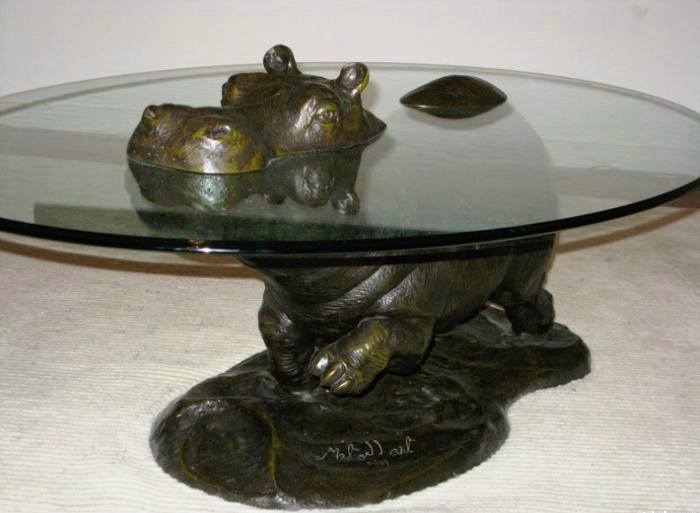 brass-aged-hippo