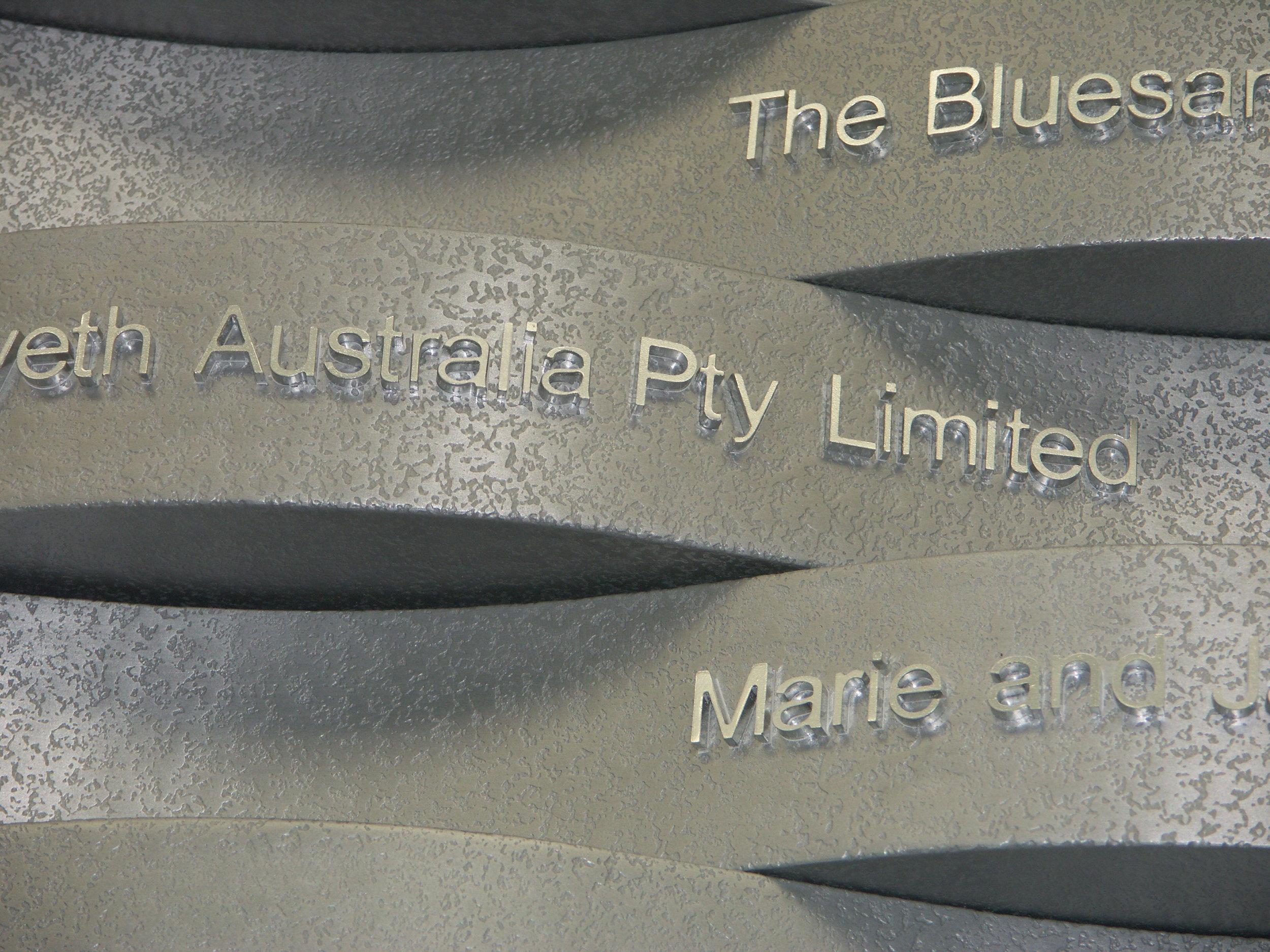 aluminium-sign