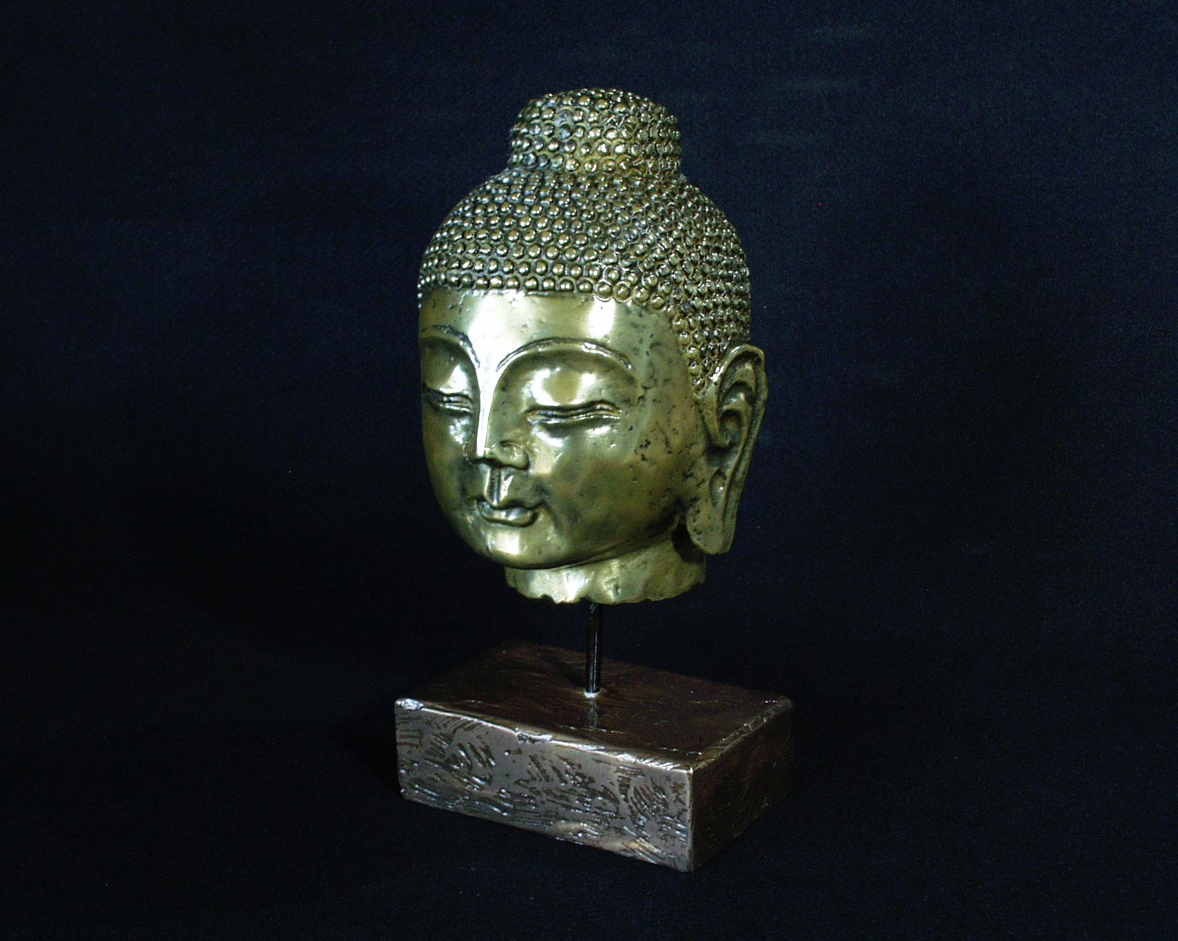 brass-budda-head