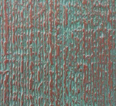 copper stone verdigris patina