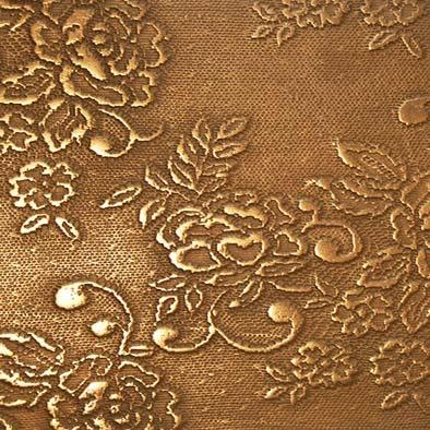 bronze flower lace