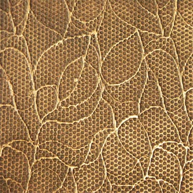 bronze leaves lace