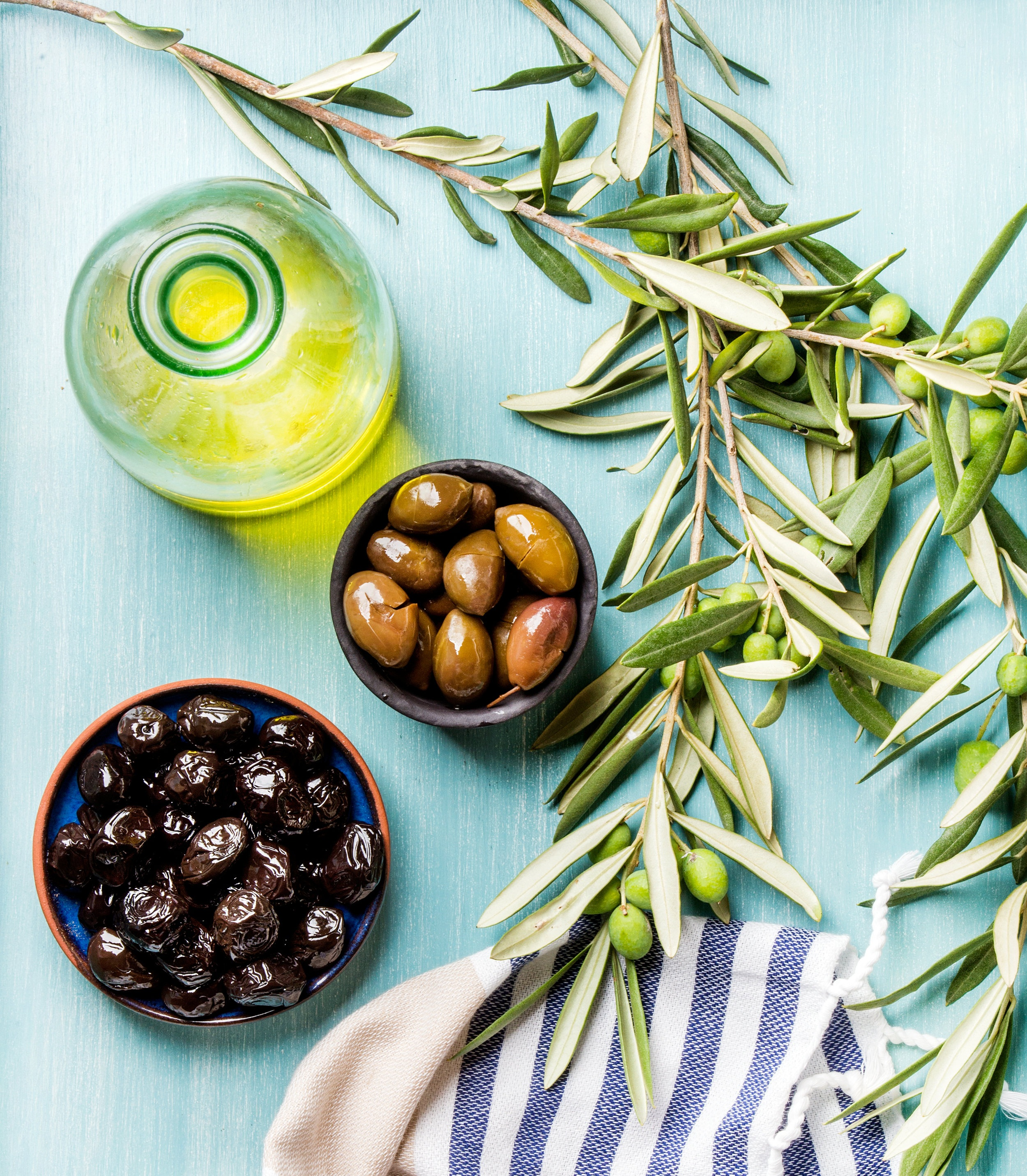 Olive oil - Local Products -  Le 3e Restaurant - Bar - Terrace Nice