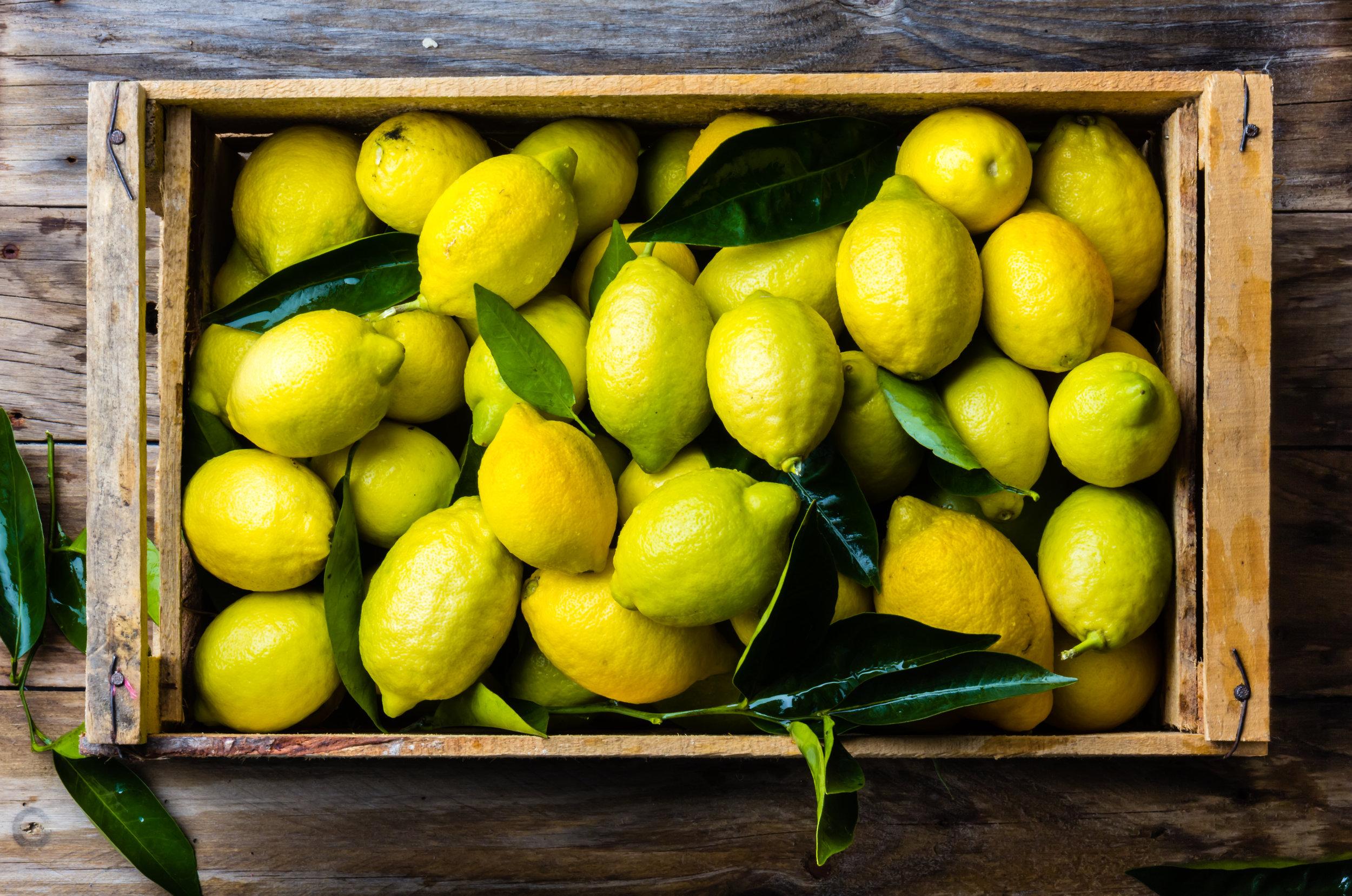 Le Citron du Menton - Produits locaux  - Le 3e Restaurant - Bar - Terrasse Nice