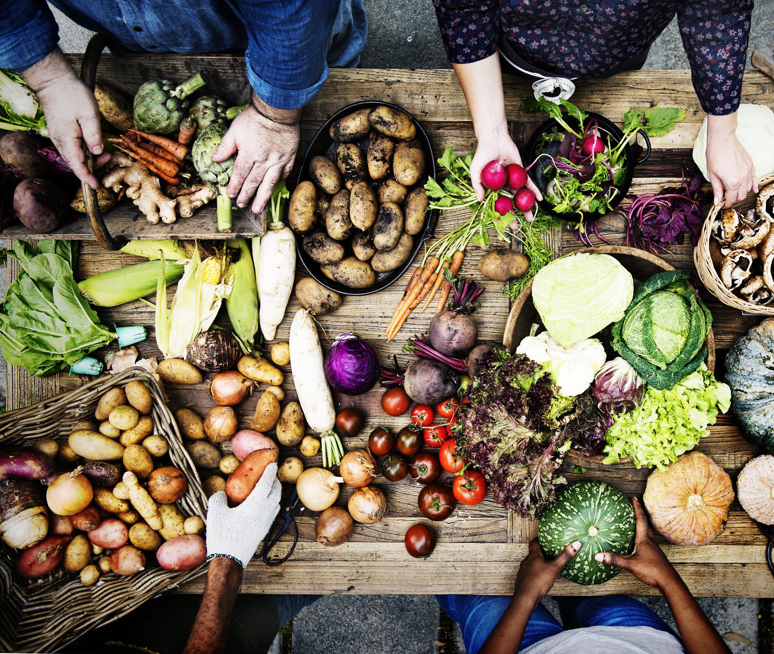 Le Potager niçois - Produits locaux - Le 3e Restaurant - Bar - Terrasse Nice