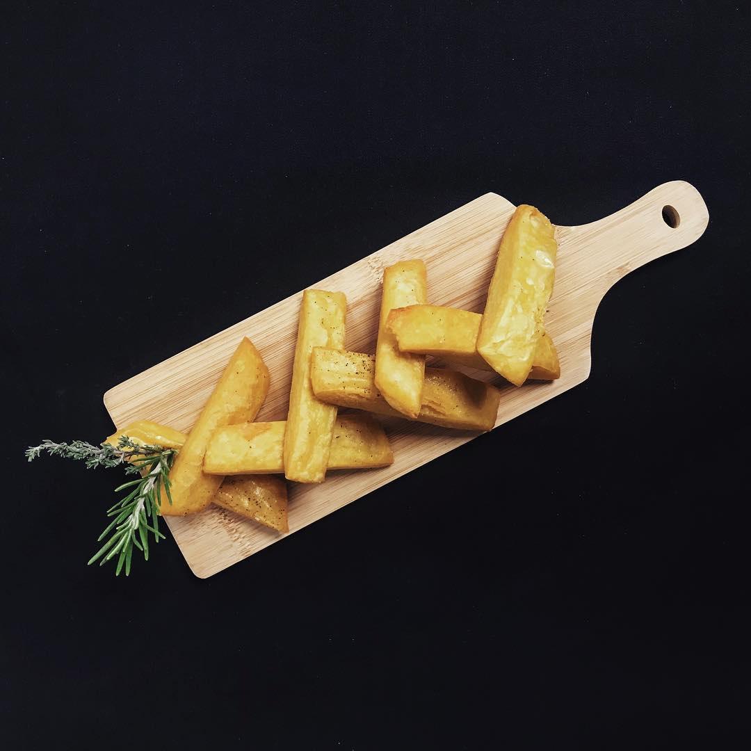 Chickpea fries - Le 3e Restaurant Nice