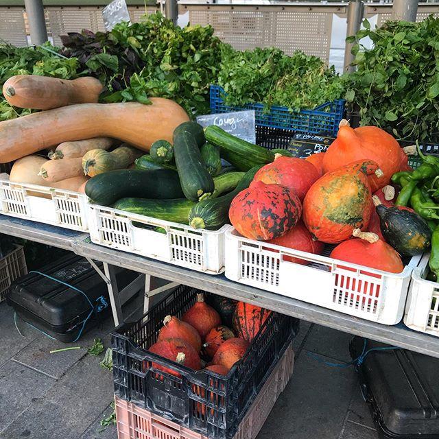 L'automne arrive sur le marché de la libération #hyattregencypalaismed #food #restaurant #petitproducteur #nice06cotedazur #paca @le3e.nice