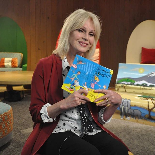 """""""We are learning more and more, and it seems only just now it's in the front of our minds. But today there's no backing away from it. We know about ivory, and there is no excuse."""" We were absolutely delighted to spend an afternoon with actress and wildlife advocate Joanna Lumley in the Google Lala Library, where she read 'An Elephant for Breakfast' by Zella for us.  Follow the link in our bio to watch the full video.  #elephant #elephants #tale2tail #conservation #ivory #EndWildlifeCrime #educatetoenddemand #protectelephants #saynotoivory #endillegalwildlifecrime #JoannaLumley"""