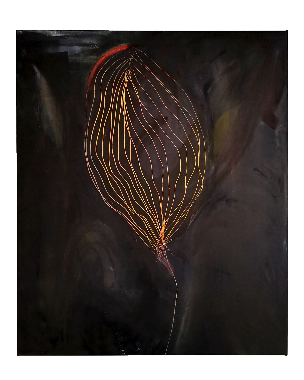 """""""Balloons""""  """"100x120cm oil on canvas"""