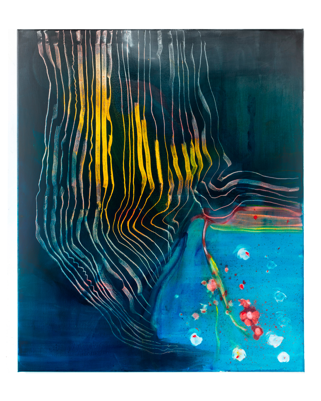 """ a strange balance""   100x120cm oil on canvas"