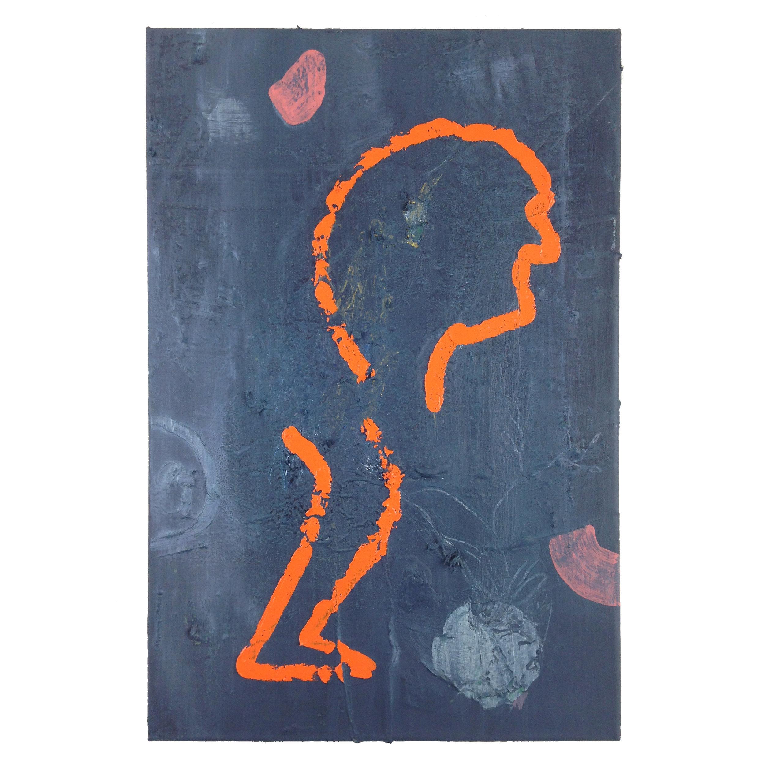 """""""balance""""   40x60cm oil on canvas"""