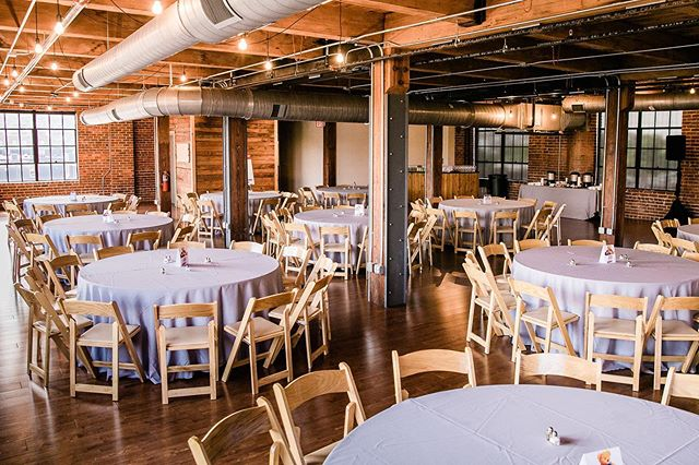 Whether it's a corporate luncheon, cocktail hour or dinner reception, our more intimate third floor space serves as the perfect setting! 📷 by @bamberphotography
