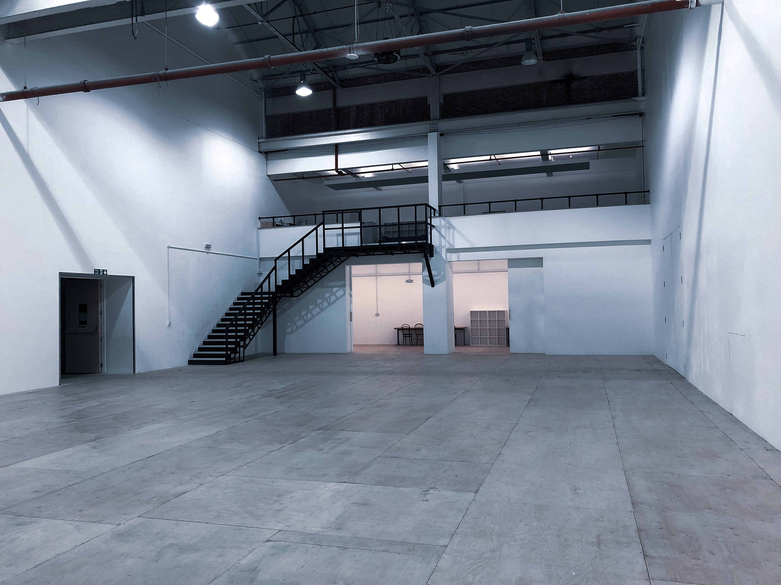 THE REHEARSAL HALL - A spacious hall that's perfect for theatre, dance, photography and film