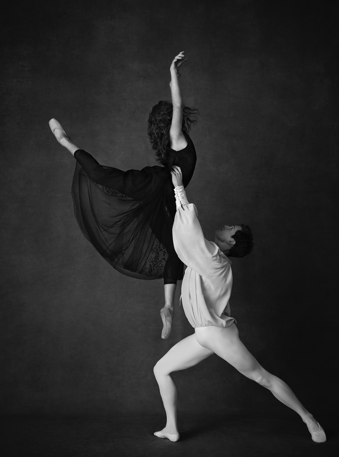 SHOT AT SUGAR STUDIOS - This stunning photograph of the Royal Ballet was taken by Agata Pospieszynska inside our rehearsal hall.©2019 Harper's Bazaar. Used with permission