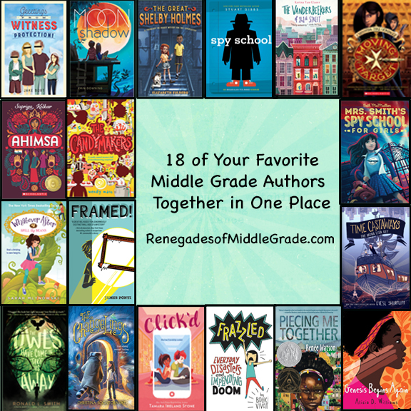 - I'm very excited to be part of the RENEGADES OF MIDDLE GRADE! We're 18 middle grade authors that have a website for educators and kids with lots of fun games and embarrassing school pictures! Be sure to check us out here.