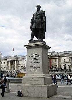 William Behnes, Sir Henry Havelock, 1861, bronze, Trafalgar Square, London WC2, photo: (c) Richard George.