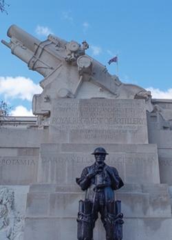 Charles Sargeant Jagger, Royal Artillery Memorial (detail), 1925, Hyde Park Corner, London SW1