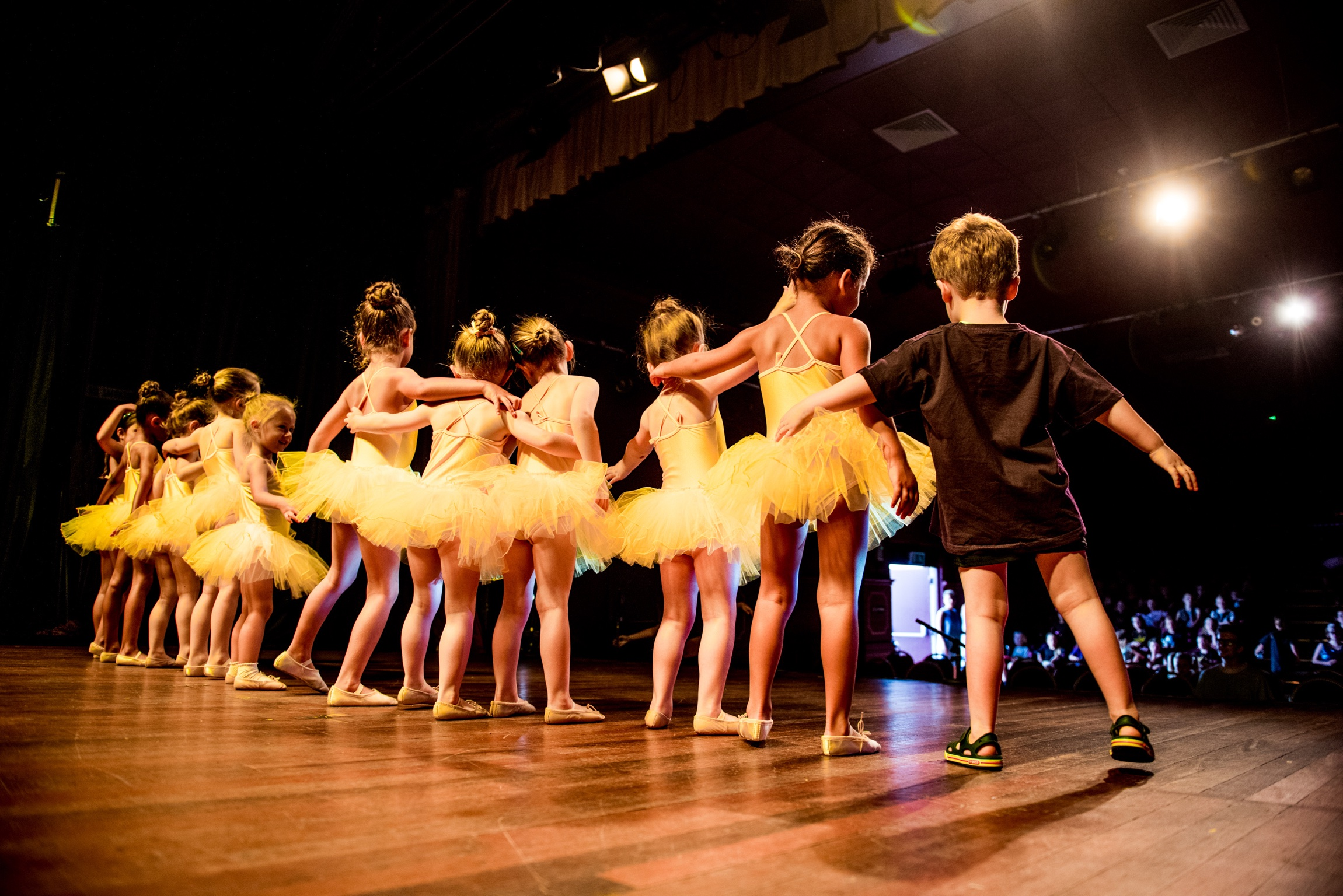 Ballet - We follow the RAD ballet syllabus and graded exams are offered each year but are not compulsory.Ballet is a wonderful discipline that really helps develop a strong foundation in dance that also teaches skills that children carry to adulthood.