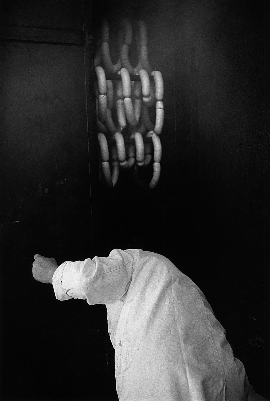 Heinz Hubli, Butcher, for Neue Zürcher Zeitung, 1996