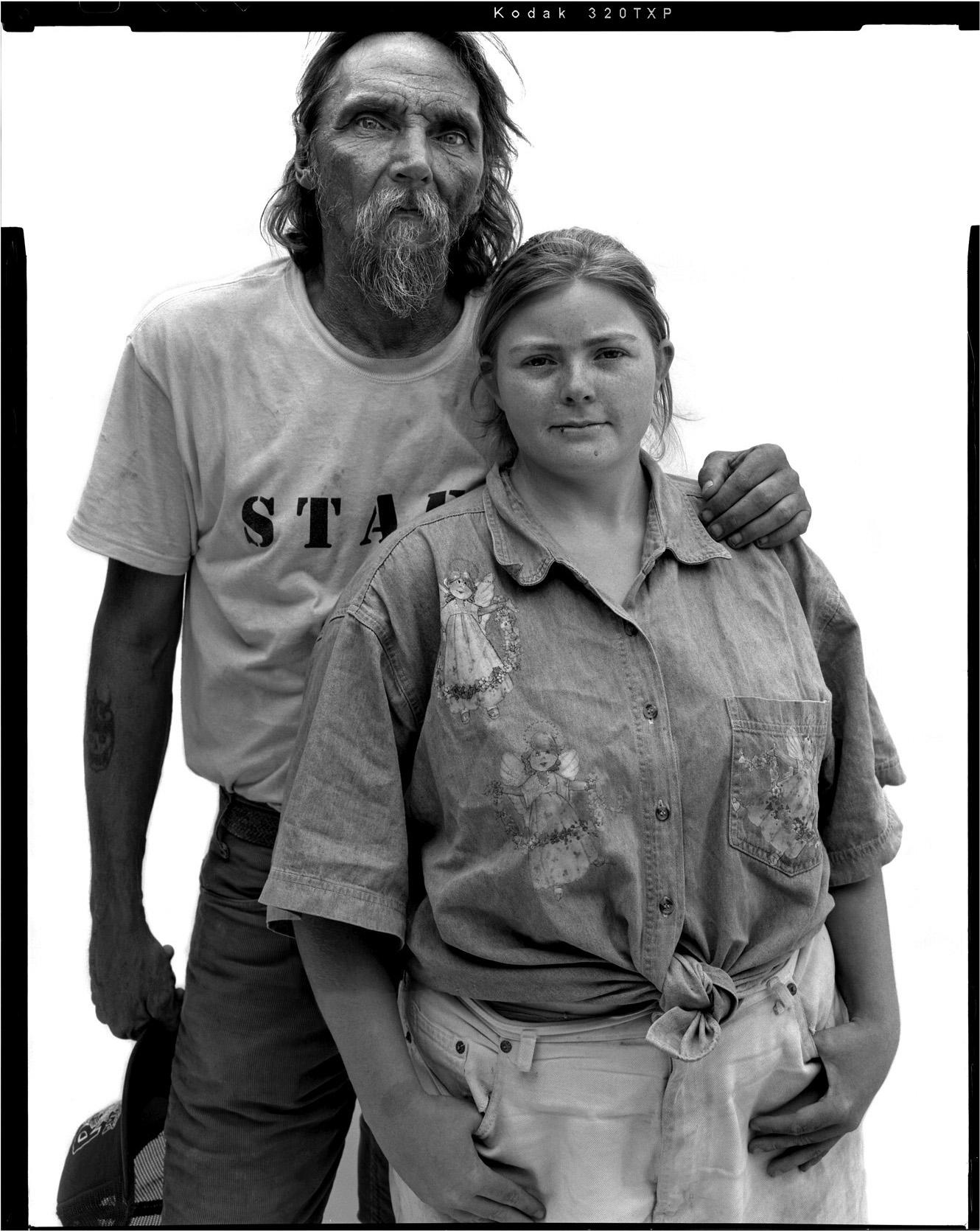 Wayne and Linda Smith, Slab City, for Neue Zürcher Zeitung, 2004
