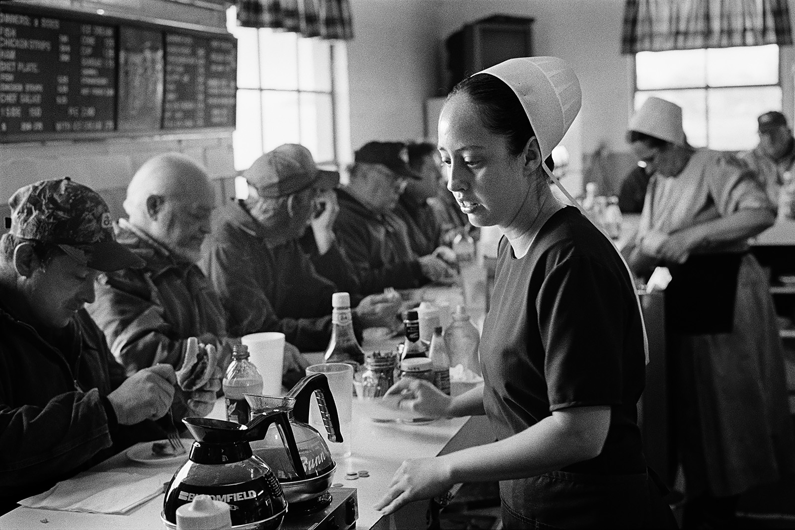 Livestock Auction Diner, Sugar Creek, Ohio, 2009