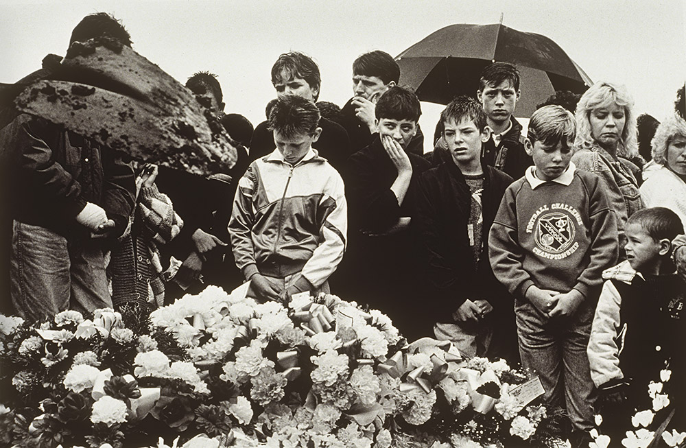 Funeral of Seamus Duffy, August 1989