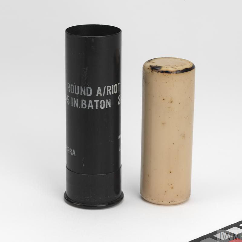"Round Baton 1.5 "" (rubber bullet), Imperial War Museum"