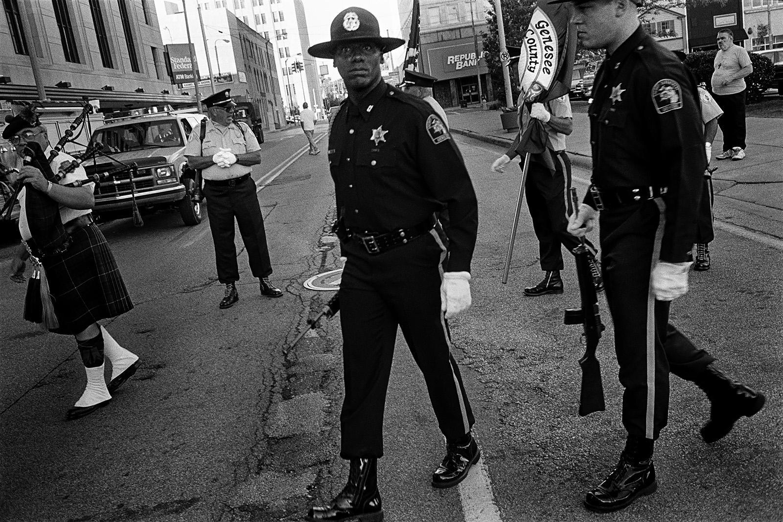 9/11 Memorial Parade, Flint, 2003
