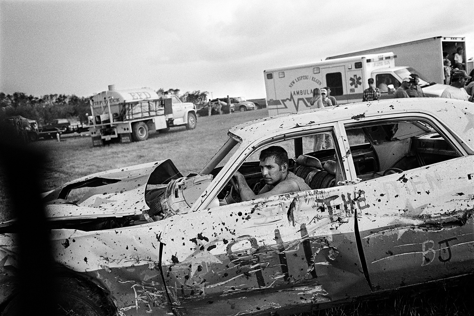 Demolition Derby, Elgin, North Dakota, 2004