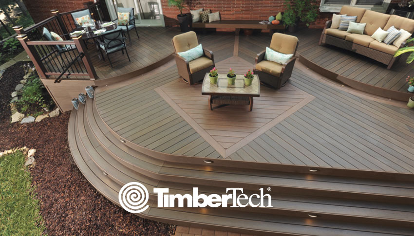 TimberTech decking is one of the most recognizable and highest quality brands of composite decking on the market today. TimberTech deck boards offer superior surface protection, and boast a 30 Year Limited Fade & Stain Warranty, so you know that you'll be enjoying your TimberTech deck for many years to come!