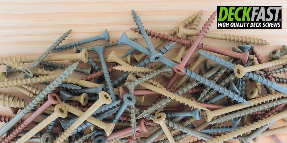 Deckfast Epoxy Screws