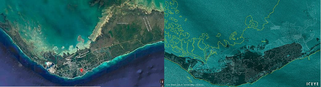 Photo source: https://pix11.com/2019/09/03/shocking-satellite-images-show-grand-bahama-island-before-and-after-hurricane-dorians-wrath/