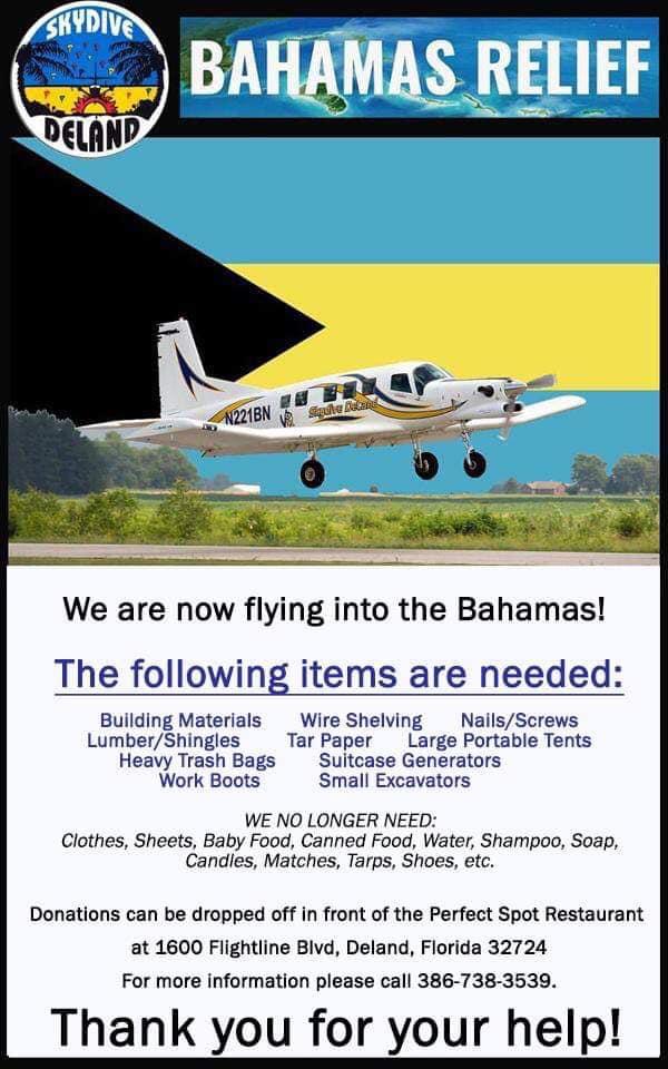 Deland, Florida drop-off Location - 1600 Flightline Blvd, Deland, FL, 32724