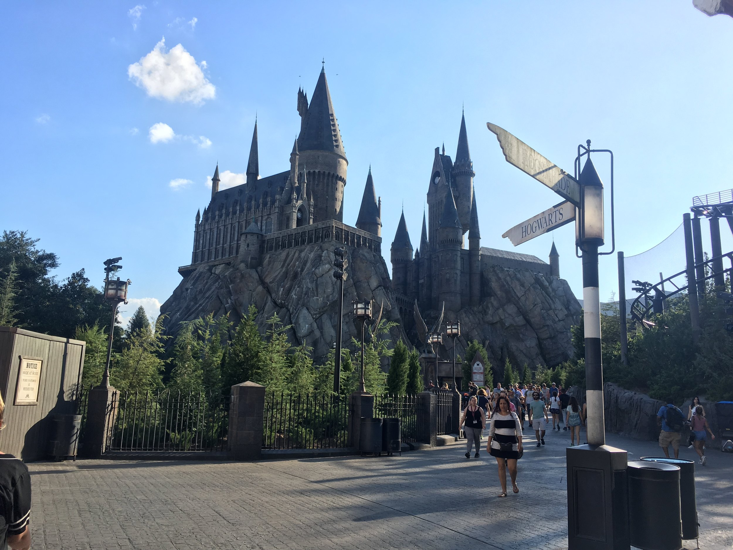 Just another beautiful day at Hogwarts…