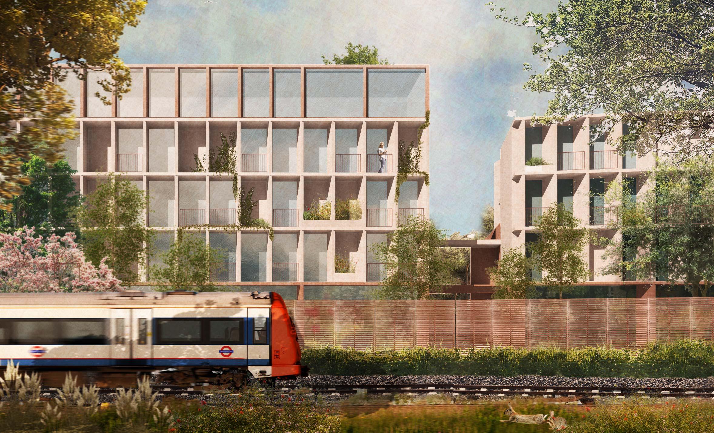 Ealing Fields  Co-Living Scheme -  London