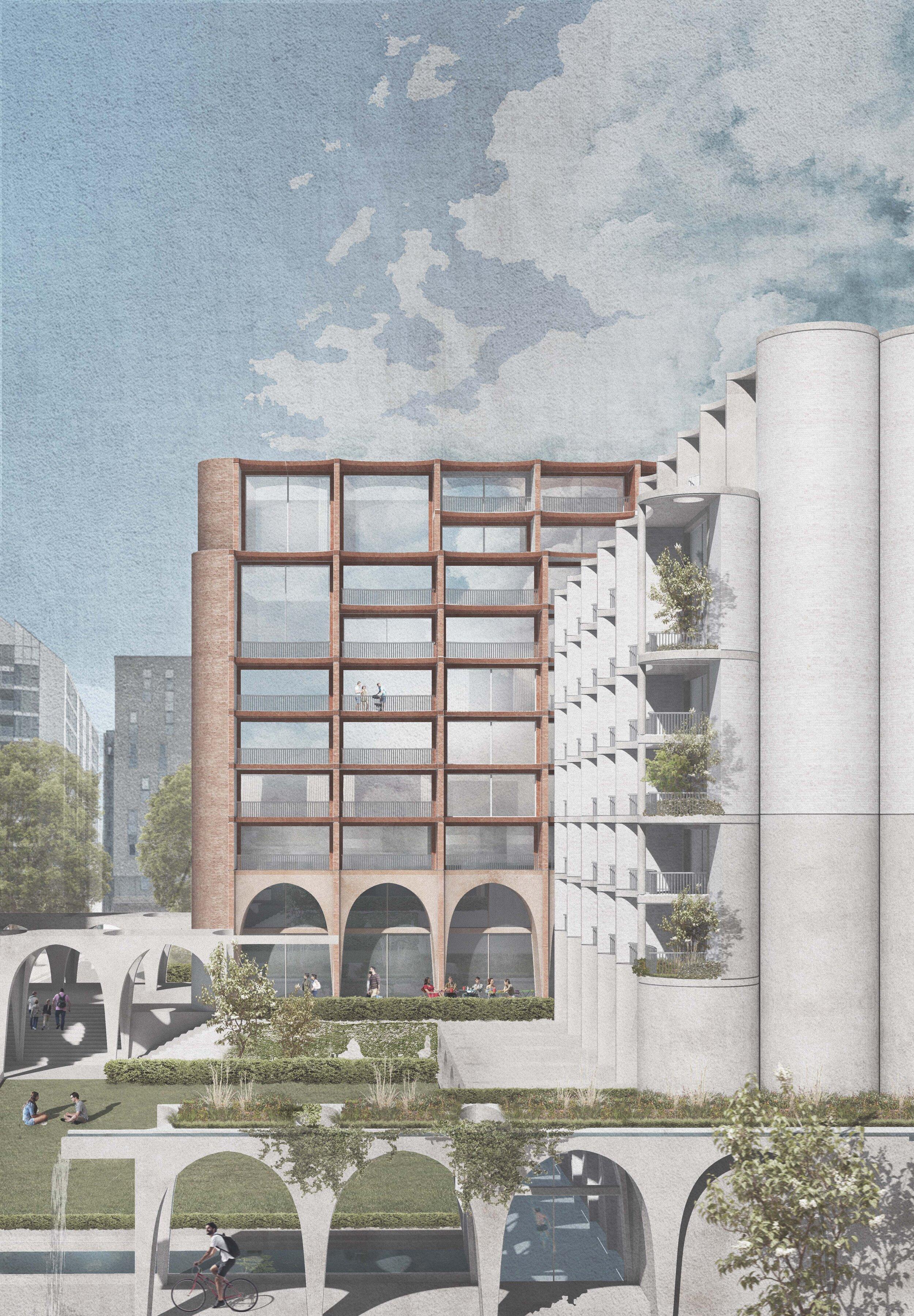 Wandleside Housing  Multi Unit Development -  London