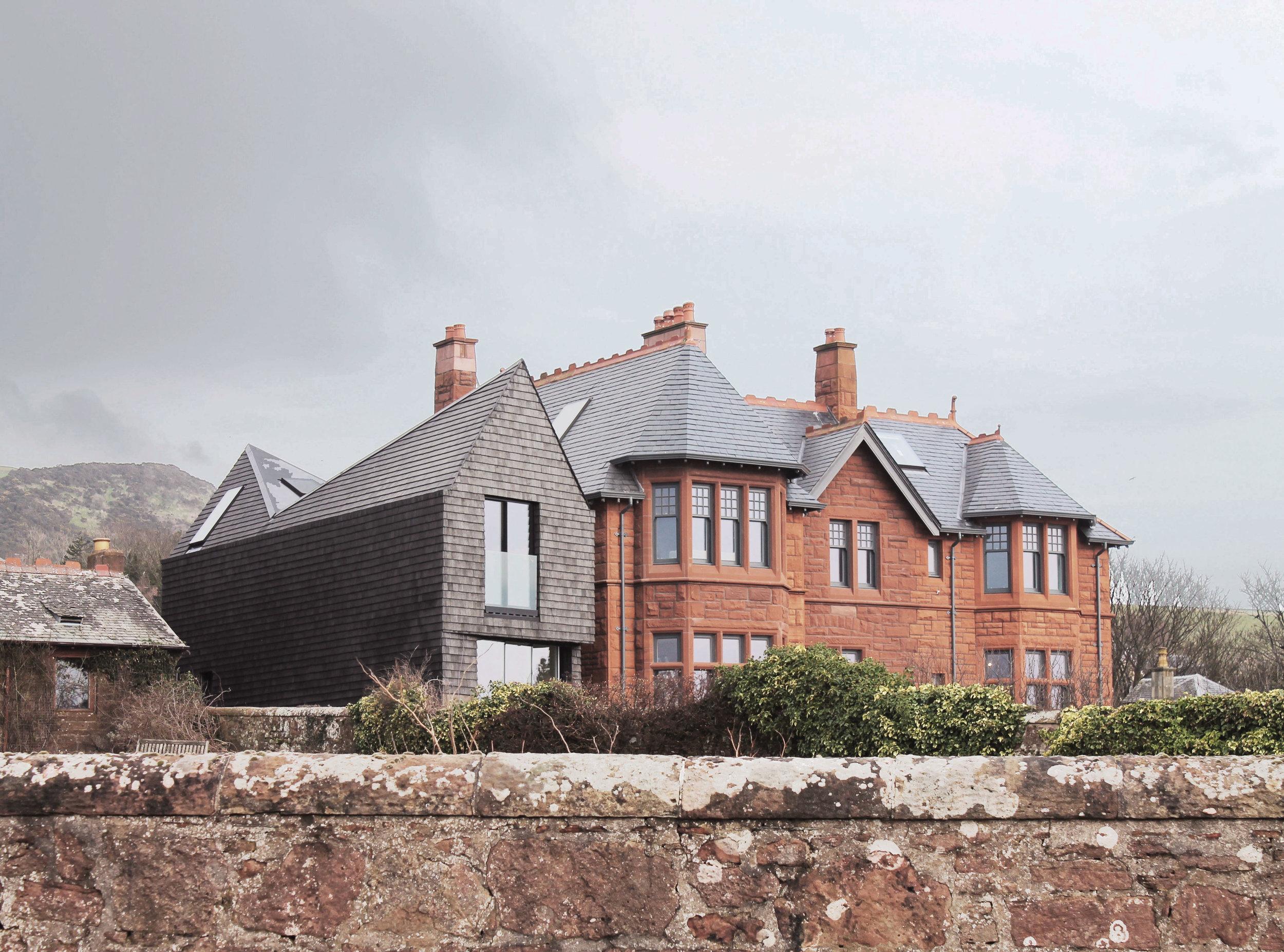 Shingle House  Family Home -  Scotland