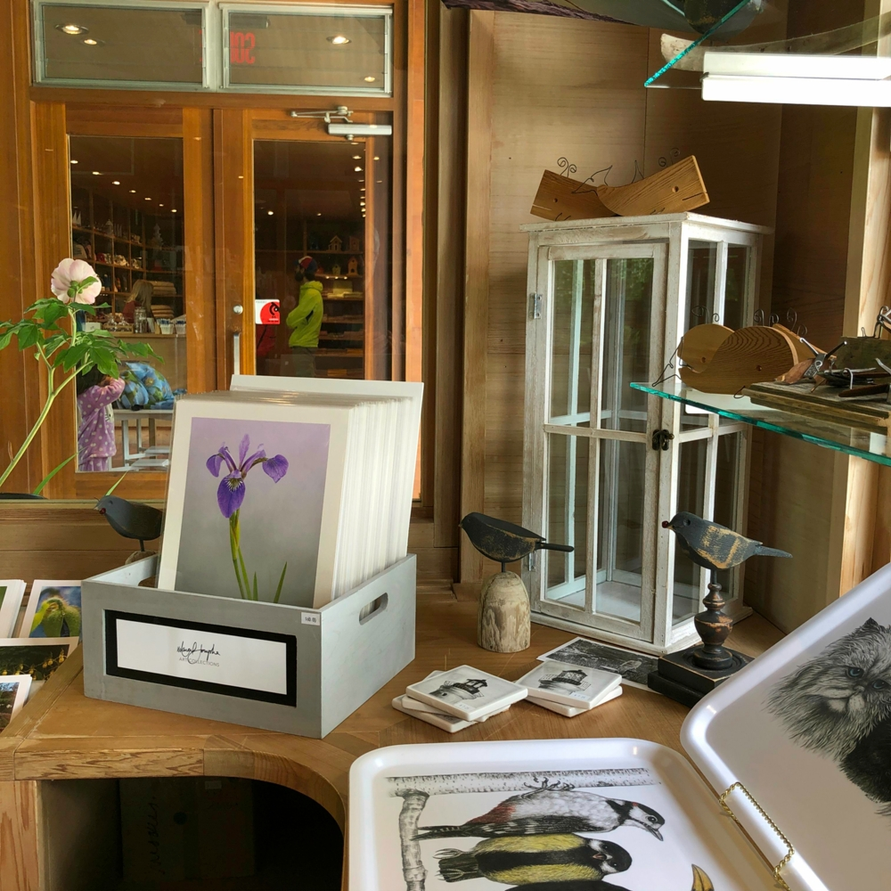 Marcel Jomphe's Fine Art Prints at the Reford Gardens Shop