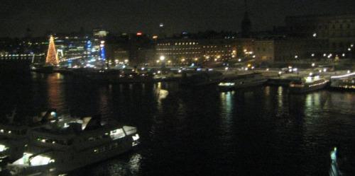 Stockholm view from Grand Hotel. Photo: Mel Matthews