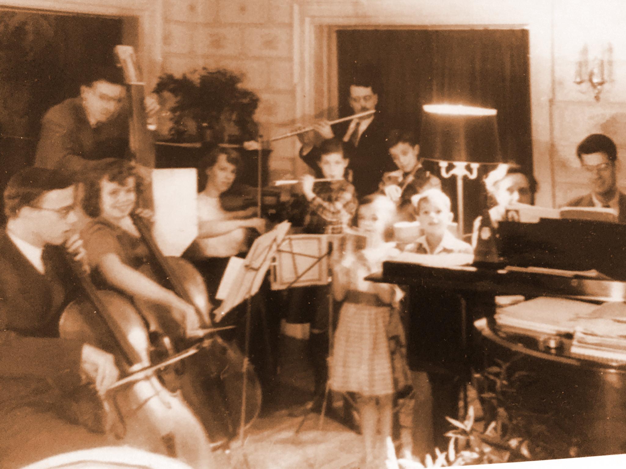 Shapley family orchestra