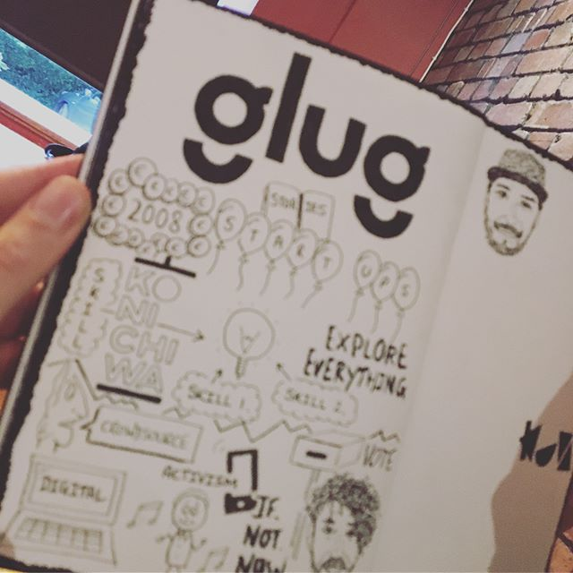 ~ gℓυg gℓυg ~  Thanks so much @glugbristol @keriinsta @thesquareclub for putting on an awesome Night! Such good talks by @theseanbuchan @jamfactory @konichiwa_pr @wearekuva . Went to bed inspired! 👊🏻🦅❤️