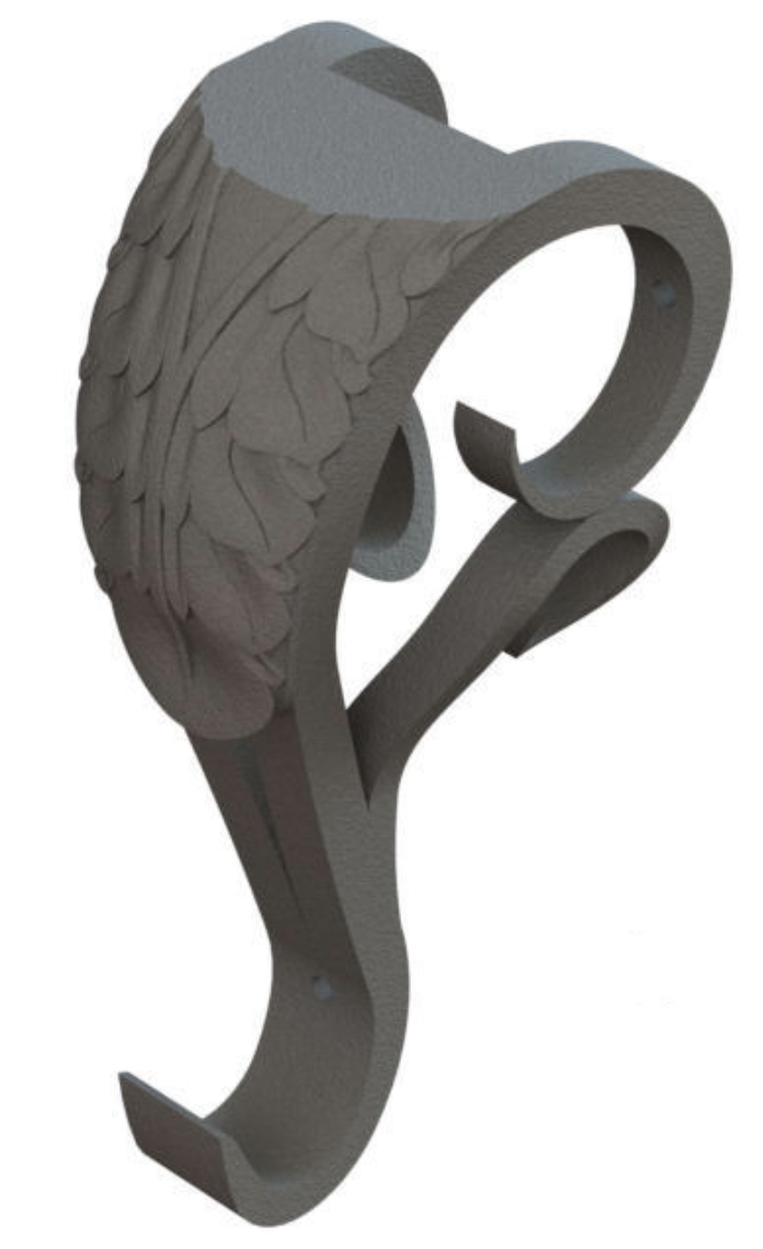 Powder Coated Cast Iron Corbel