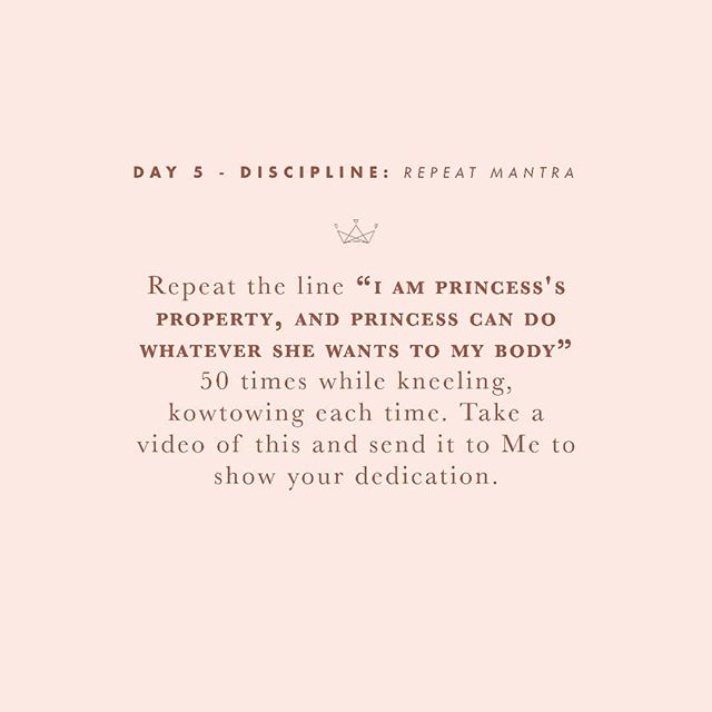 Day 5 -  A simple but necessary task.  #30daysofsubmission  #bdsm #bdsmcommunity #bdsmgame #sgbdsm #sgdomme #asianmistress #mistress #asiandomme #prodomme #domination #dominatrix #domme #femdom #femdomme #fetlife #kink #dominatrixworship