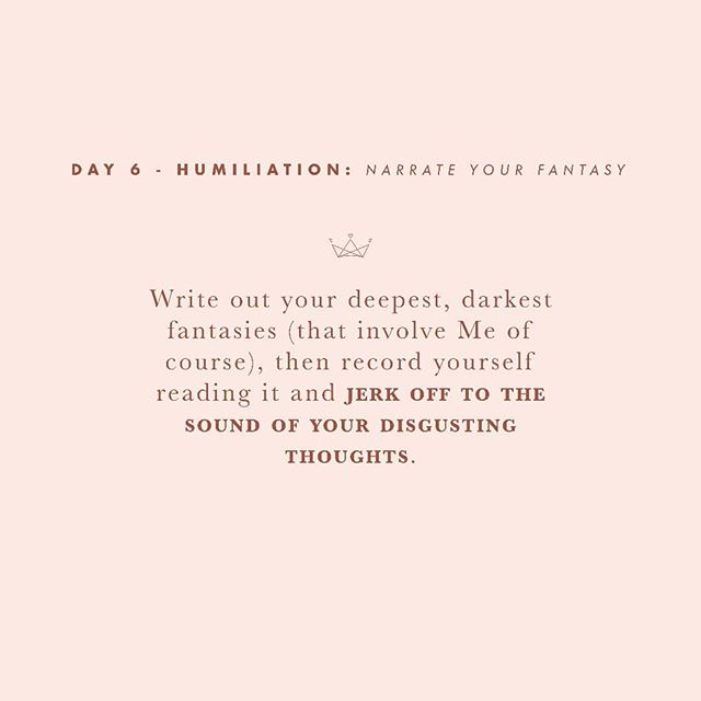 Day 6 -  I love knowing what goes on in the heads of my little subs. Go ahead, tell me what perverted thoughts your mind entertains.  #30daysofsubmission  #bdsm #bdsmcommunity #bdsmgame #sgbdsm #sgdomme #asianmistress #mistress #asiandomme #prodomme #domination #dominatrix #domme #femdom #femdomme #fetlife #kink #dominatrixworship #humiliation #taskplay