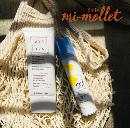 Glowing Reviews of Ava Isa and CyberDERM Sunscreens in Japan. - Our friends at Mi-Mollet in Japan name our Ava Isa Pure Untinted Ultra Matte SPF 45 as their favourite sunscreen ever! They also recommend adding our CyberDERM Every Morning Sun Whip to your morning routine.