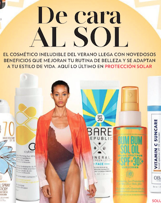 People en Español Magazine features CyberDERM Every Morning Sun Whip. - In their feature story, De Cara Al Sol, People en Español showcase the best sunscreens on the market for ultimate skin protection. Our very own CyberDERM Every Morning Sun Whip made the list as the most innovative sunscreen offering full broad spectrum protection with it's hybrid formula.Check out the full article for more information.